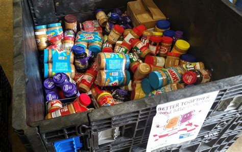 Chester Food Pantry by Pb J Drive Help Stock Shelves With This Pantry Favorite