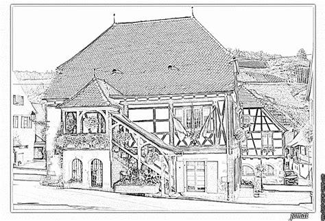 Coloriage Alsace 1 224 Imprimer Pour Les Enfants Dessin
