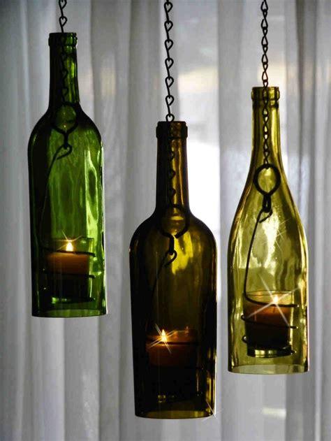 wine bottle l diy diy wine bottle candle holders pretty cool home