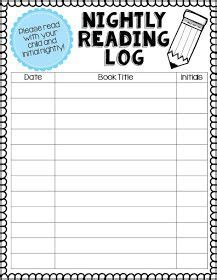 nonfiction reading log printable printable reading log for first graders reading log mrs