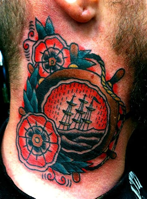 sinking ship tattoo 17 best images about traditional helm on