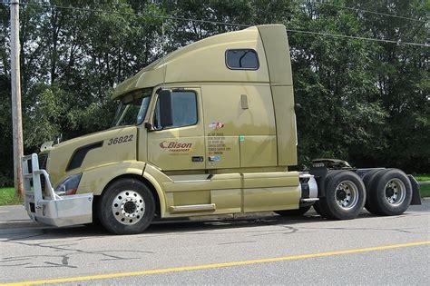 volvo trucks canada bison transport 36822 volvo truck gatineau quebec canada