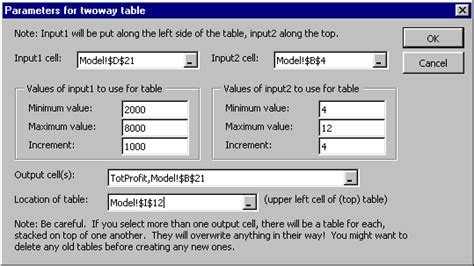 input output table solver b6015 decision models professor juran