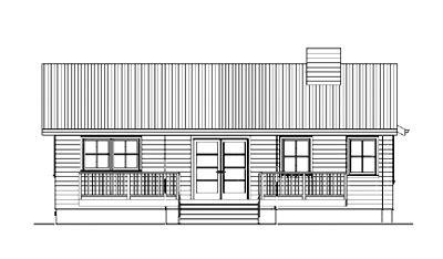 drawn building elevation drawing pencil   color