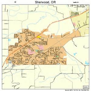 sherwood oregon map 4167100