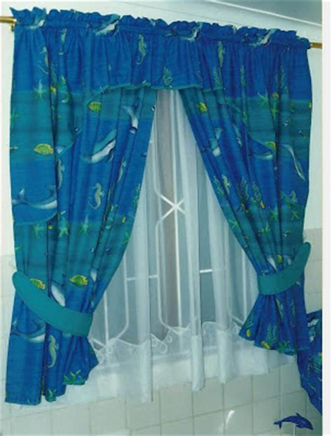 dolphin curtains clever needle designs bathroom curtains