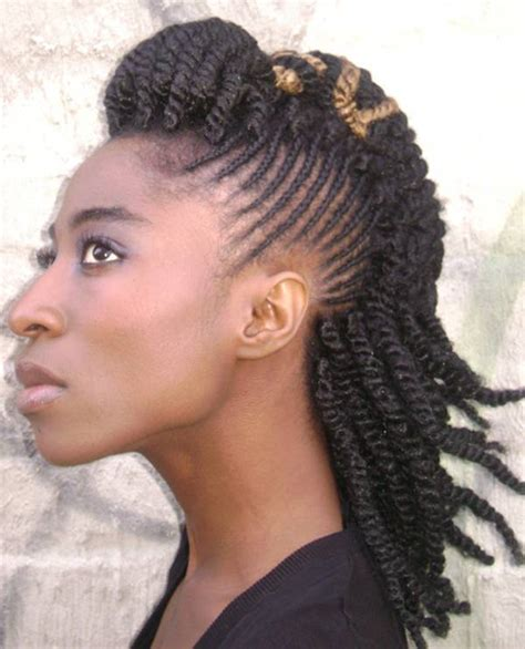 hair braids going up in a ball 57 pics of kinky twist dos for various events vogues