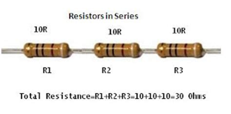 series of resistor electronics repair made easy how to make up any value of resistor for replacement if you can t
