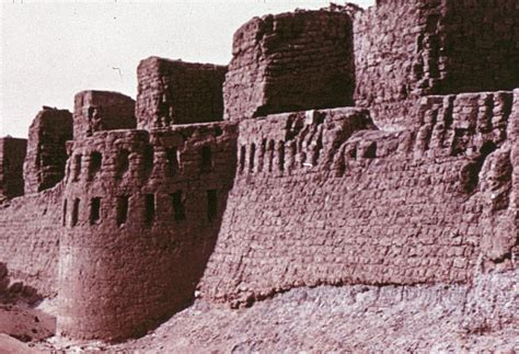 How High Is 150 Meters massive fortress buhen in ancient capital of egyptian