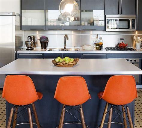 Kitchen Island Centerpiece by Colorful Modern Interior By Mae Brunken Designs