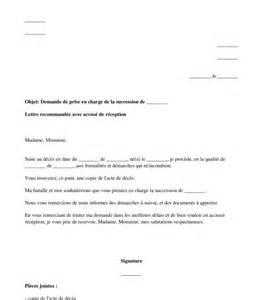 Modèle De Lettre Pour Un Notaire Lettre De Demande De Prise En Charge D Une Succession Au Notaire