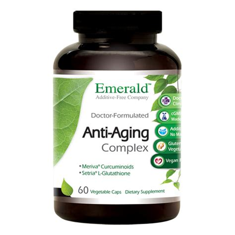 Kannaway Anti Aging Herbal Detox Support by Anti Aging Complex Emerald Supplements