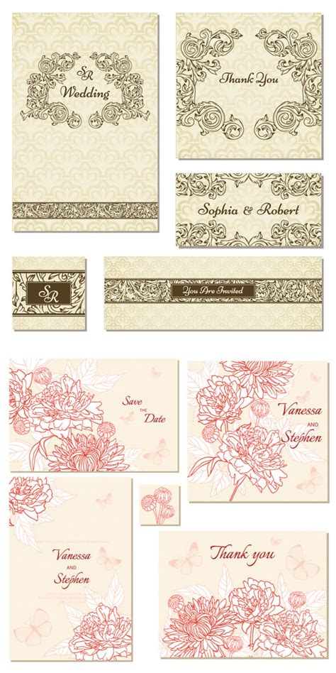 Wedding Invitation Vector by Ornate Wedding Invitation Vector Free Vectors Images
