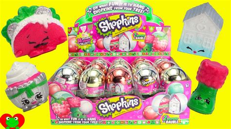 Shopkins Ornaments Blind Pack new shopkins ornaments exclusive season 3 bauble
