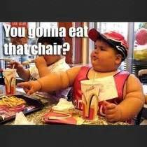 Fat Kid On Phone Meme - what i picture when my dad tells me he just got the new