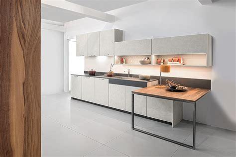 küchenzeile k 252 chenzeile concrete beton kashmir quattro walnuss holzfurnier