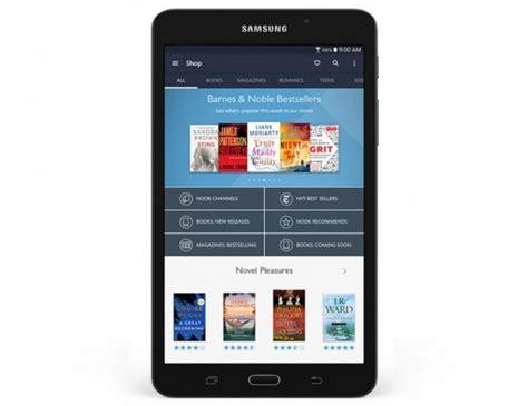 Tablet Samsung Khusus samsung galaxy tab a nook tablet khusus membaca e book besutan barnes noble resmi dirilis