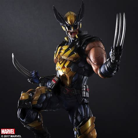 Play Arts Marvel Universe Ori Square Enix New Misb marvel universe variant play arts wolverine square enix store