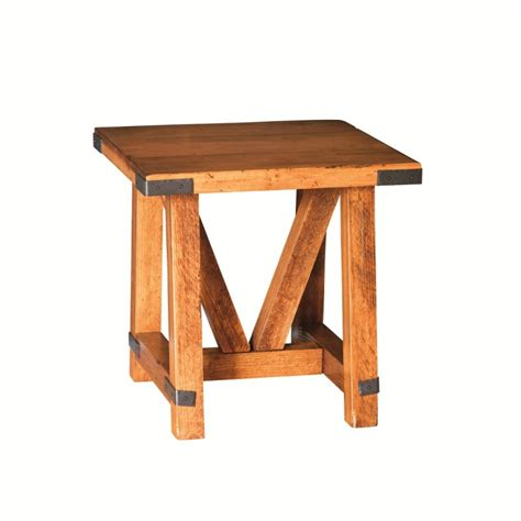 large end table olde farmstead large end table amish made end table