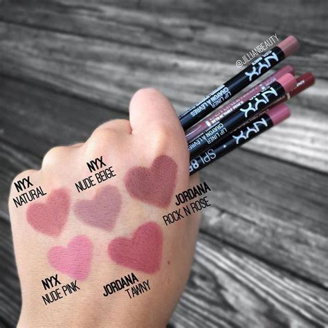 Nyx Glossy Liner 25 best ideas about nyx lip liner on nyx