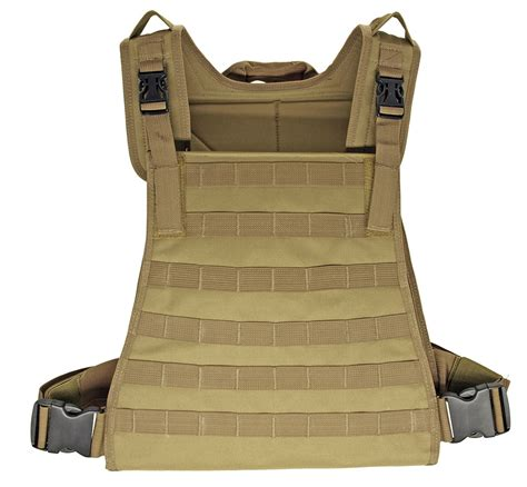 molle vest molle padded tactical vest