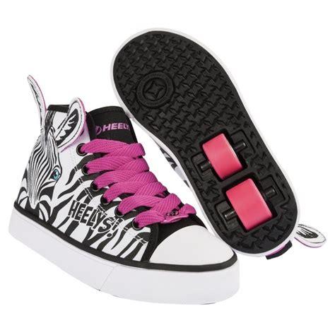 heelys x2 zoo series roller shoes skate shoes zebra ebay