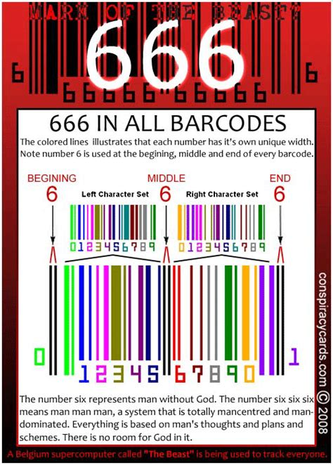 barcode tattoo satanic what it is
