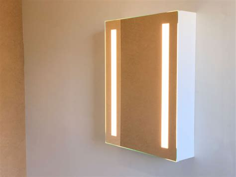 cabinet bathroom lighted mirror vanity make up mirror