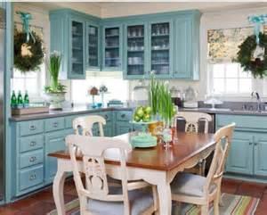 Turquoise Kitchen Ideas Aqua Blue Cabinets Kitchen Ideas Organization
