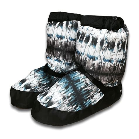 Bloch Pattern Warm Up Booties | bloch adult patterned warmup booties