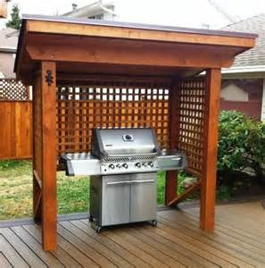 Patio Covers Designs 21 Grill Gazebo Shelter And Pergola Designs Shelterness