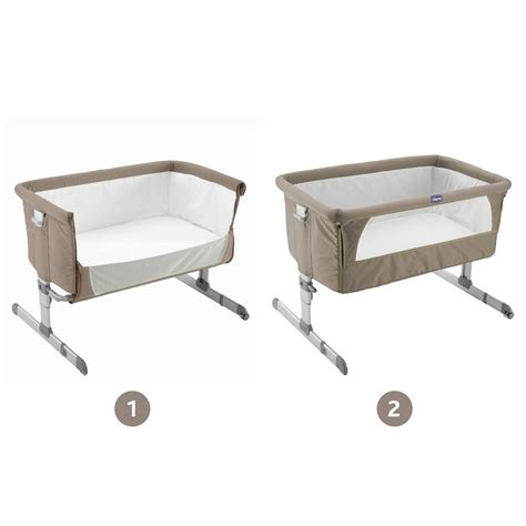 Chicco Next To Me Co Sleeper by Chicco Co Sleeper Cot Next2me 2017 Dove Grey Buy At