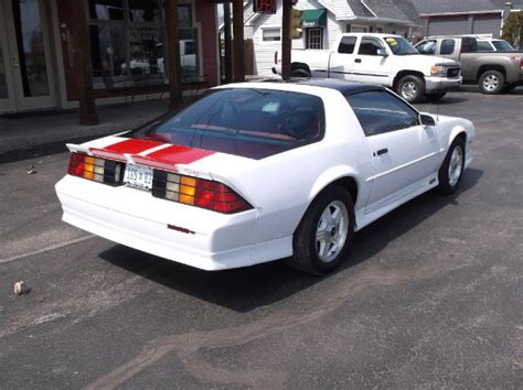 1992 camaro rs 25th anniversary for sale white 1992 chevrolet camaro rs 25th anniversary v8 for