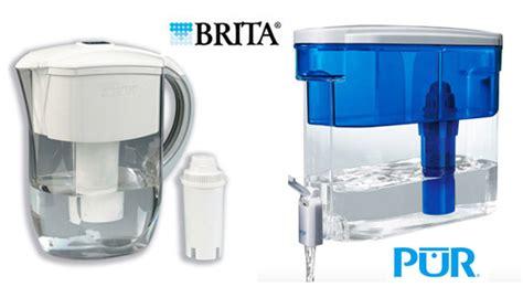 Brita Vs Pur Faucet by Filtered Water Dispenser Puru0027s Large Slim Dispenser