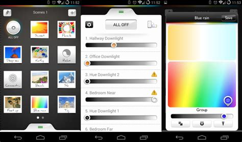 Hue Lights App by Hue Apps For Android A Look At The Clumsy