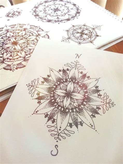 mandala tattoo tumblr 17 best ideas about mandala compass on mandala