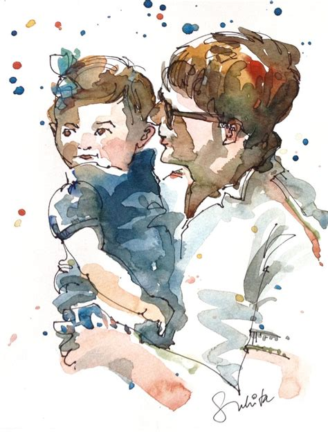 custom portraits 17 best images about watercolor portraits on watercolors photographs and