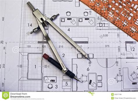 blueprint online free architectural rolls and blueprints stock photo image