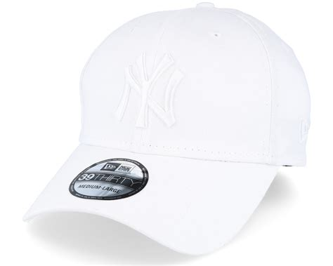 white new era new york yankees league essential white white flexfit