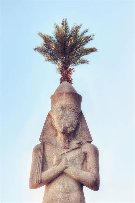 Longsleve Ramses statue of ramses photograph by joana kruse