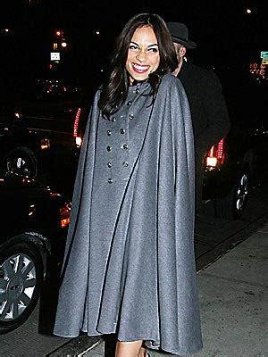 Fashion Hit Or Miss Rosario Dawson Couture In The City Fashion by Cape Fear Capes And Retro Coats Winter Trend Hit Or