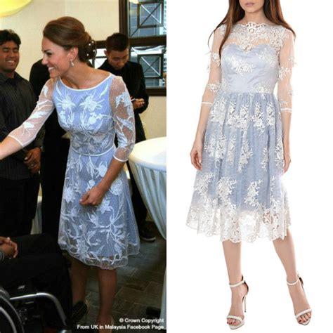 Dress White Zara Copy Syal replikate copy kate s temperley aster flower