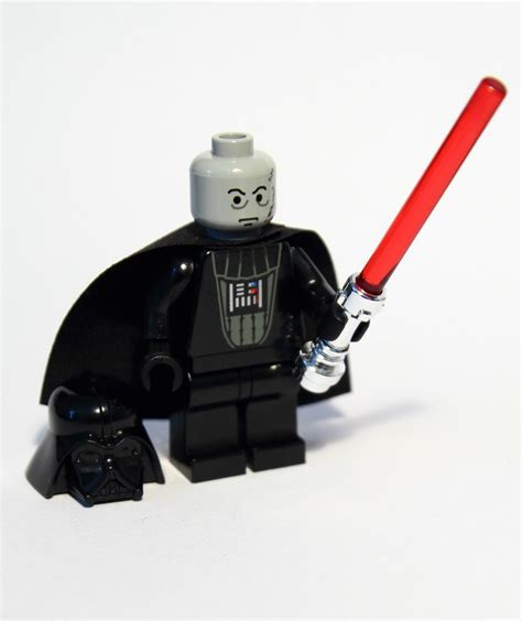 Lego Darth Vader Minifigure the lego darth vader minifigure made 1999 with a light grey eyebrows