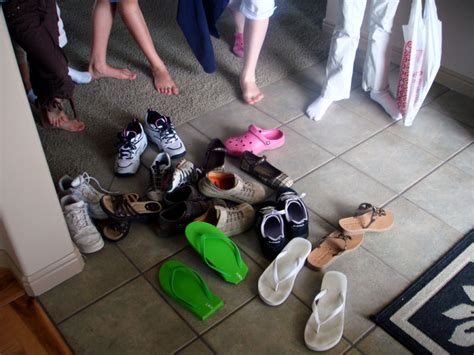 taking shoes off in house etiquette actually yes i do mind taking off my shoes