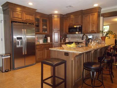 Open Floor Plan Ranch Style Homes Ranch Style Traditional Kitchen Other Metro By