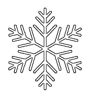 printable snowflake patterns pdf free printable snowflake templates large small stencil