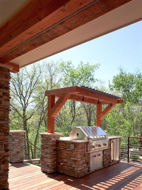 Green Egg Built In Outdoor Kitchen - 21 grill gazebo shelter and pergola designs shelterness