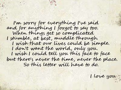 Sweet Apology Letter To Your Let In By Camila Benday 225 N Whi