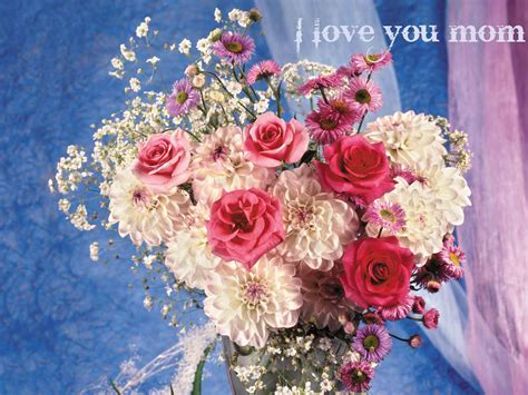 wallpaper flower i love you i love you mom mothers day wallpapers cool christian