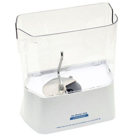 Kitchen Cabinet Hinge Repair by W10204465a Whirlpool Refrigerator Ice Dispenser Bucket